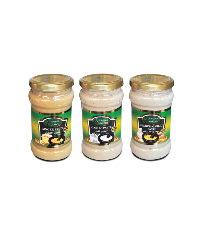Ginger Paste, Garlic Paste & Ginger Garlic Paste
