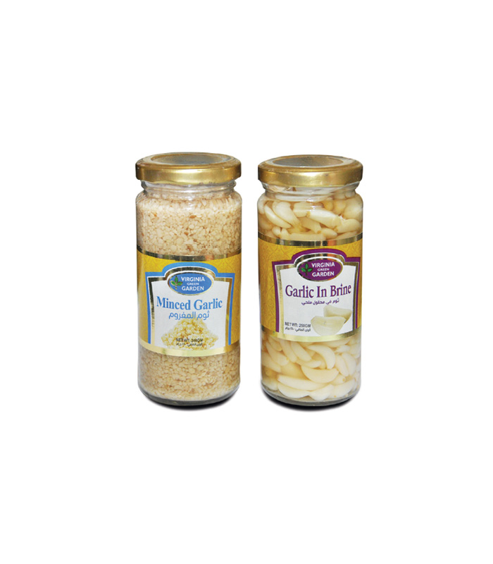 Minced Garlic & Garlic Clove